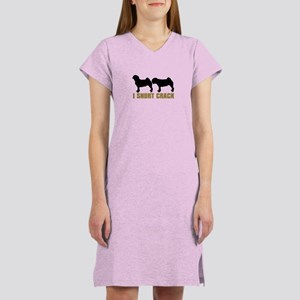 Pug - I SNORT CRACK Women's Nightshirt