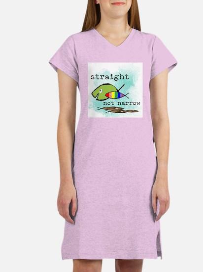 Straight But Not Narrow Women's Nightshirt