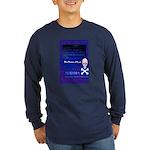 Blue Screen of Death Long Sleeve Dark T-Shirt