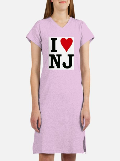 I LOVE NJ Women's Nightshirt