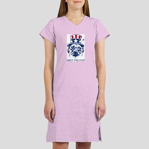 PUG USA Women's Vintage Nightshirt