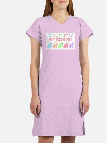 Bunny Whisperer Women's Nightshirt