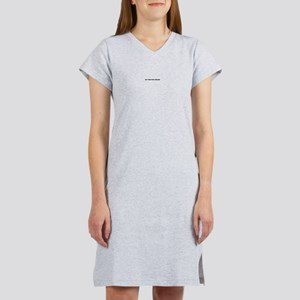 get your eyes checked Women's Pink Nightshirt