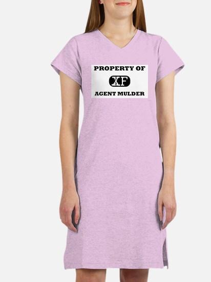 Property of Agent Mulder X-Files Women's Lt Nights
