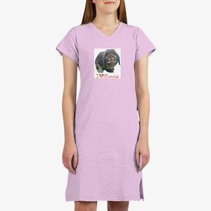 bunny lover Women's Nightshirt