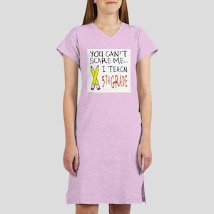 5th Grade Teacher Women's Nightshirt
