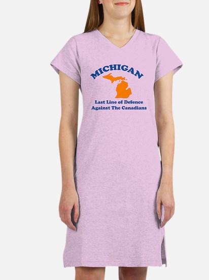 Michigan Women's Nightshirt
