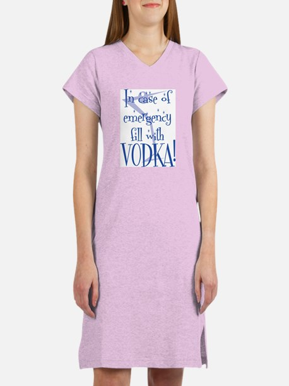 Vodka Women's Nightshirt