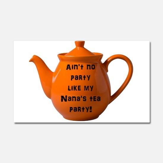 Tea Party Car Magnet 20 x 12