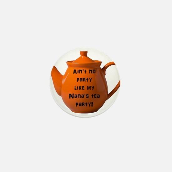 Tea Party Mini Button