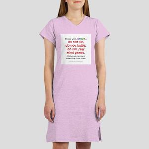 No Games (People) Women's Nightshirt