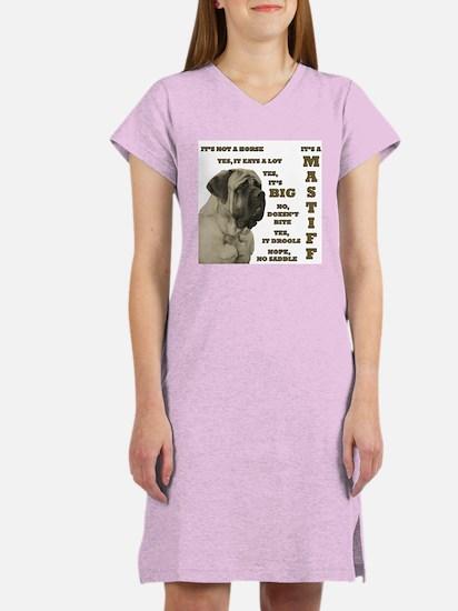 Mastiff FAQ Women's Pink Nightshirt