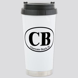 CB Clearwater Beach Stainless Steel Travel Mug