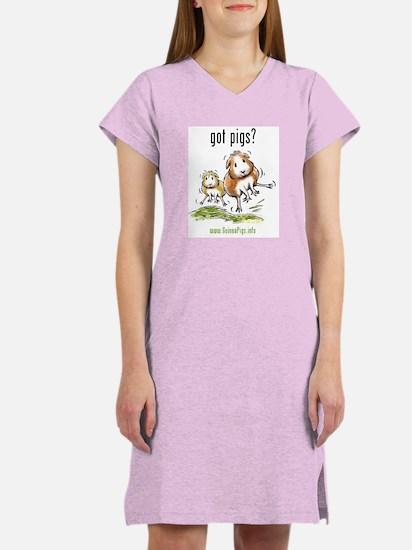 Guinea pigs: Got Pigs? Women's Nightshirt