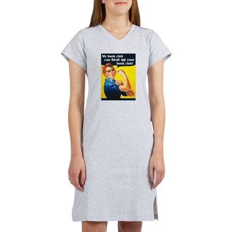 My book club can beat up your book club Nightshirt