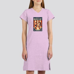 Obey the Doxie! USA Women's Nightshirt