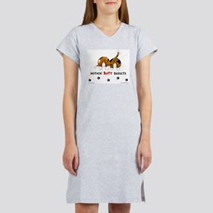 Nothin' Butt Bassets Women's Nightshirt