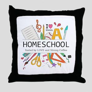 Homeschool Throw Pillow