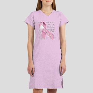 Breast Cancer Survivor Women's Nightshirt