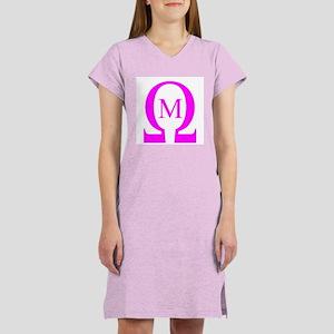 Omega Mu Women's Pink Nightshirt