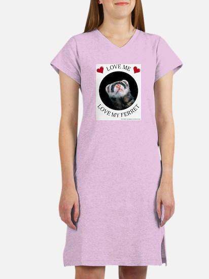 Love My Ferret Women's Nightshirt