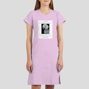 Support Weim Rescue Women's Nightshirt