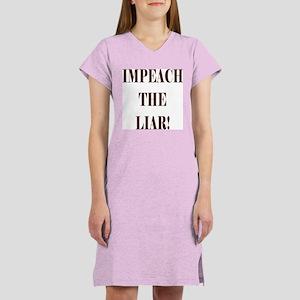 Impeach Bush Women's Nightshirt