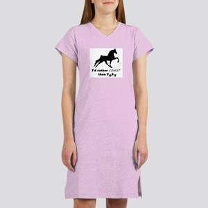 I'd Rather Coast Women's Nightshirt