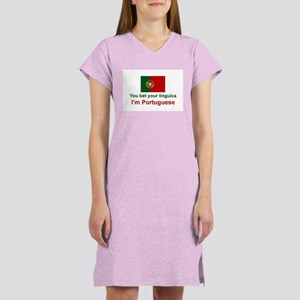 Portuguese Linguica Women's Nightshirt