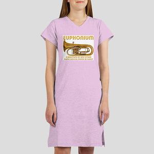 Euphonium Women's Pink Nightshirt
