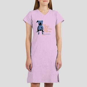 Who Needs Balls Women's Nightshirt