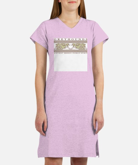 Hounds and Knotwork Women's Nightshirt