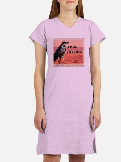 Crow Goddess Women's Nightshirt