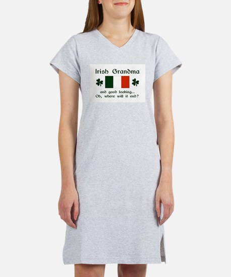Gd Lkg Irish Grandma Women's Nightshirt