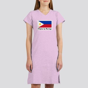 Filipino by Marriage Women's Nightshirt