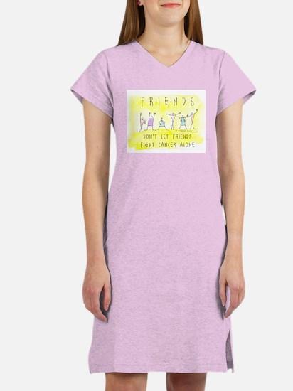 Cancer Friends Women's Nightshirt