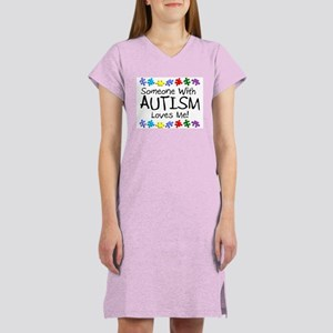 Someone With Autism Loves Me! Women's Light Nights