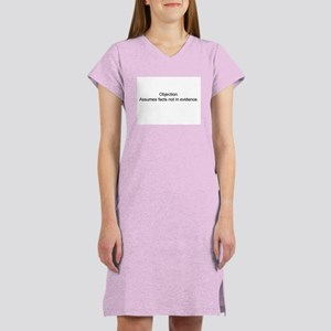 Objection/Facts Women's Nightshirt