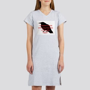 POE QUOTE Women's Nightshirt