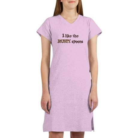 Rusty Spoons Women's Nightshirt