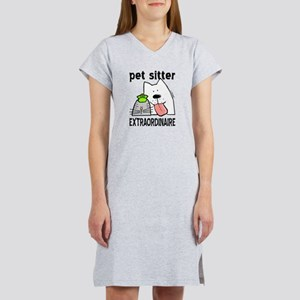 Pet Sitter Extraordinaire Women's Nightshirt