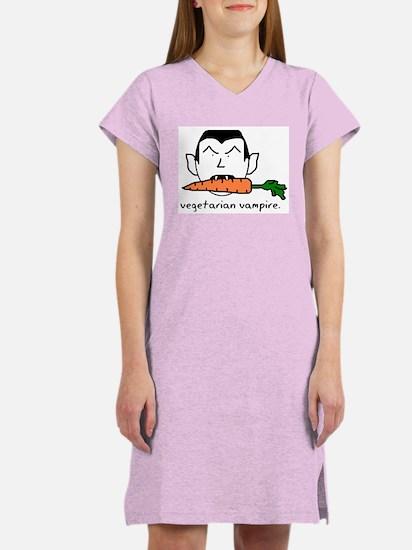 Vegetarian Vampire Women's Nightshirt