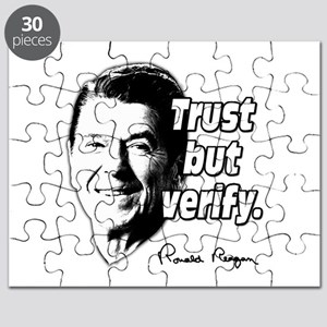 Ronald Reagan Quote Trust But Verify Puzzle