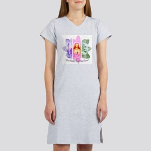 What would They have done? Women's Pink Nightshirt