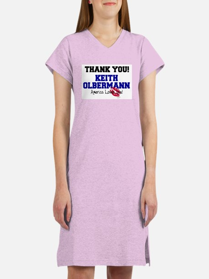 Thank You Keith Olbermann Women's Nightshirt