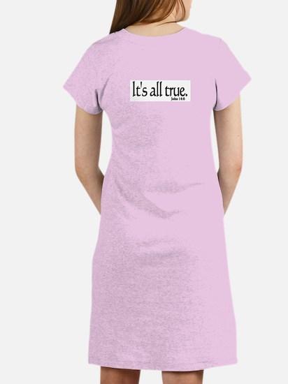 """""""Alarming Revelation"""" Women's Pink Nightshirt"""
