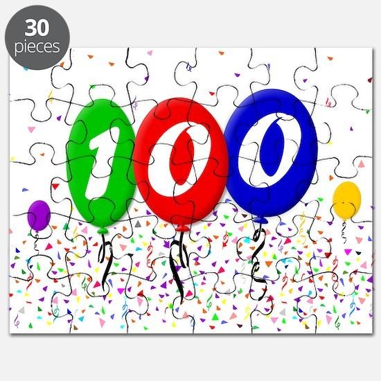 100th Birthday Puzzle