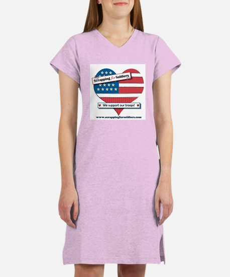 Scrapping for Soldiers Women's Nightshirt