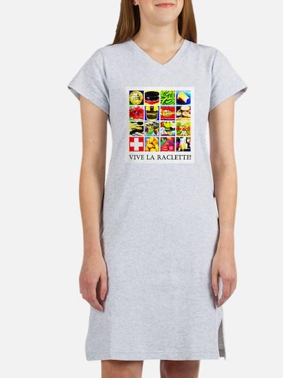 Vive la Raclette! Women's Nightshirt