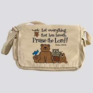 Psalm 150:6 Messenger Bag